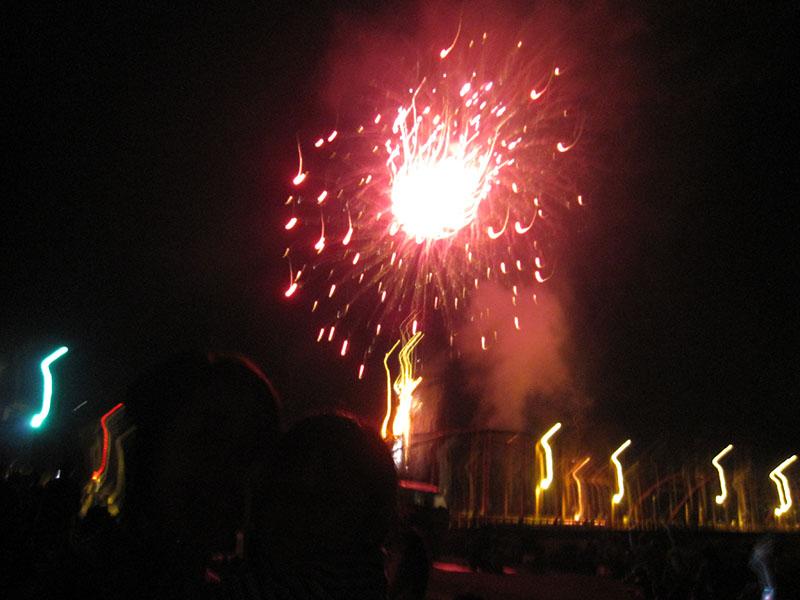千曲川河畔納涼花火大会 毎年8月14日