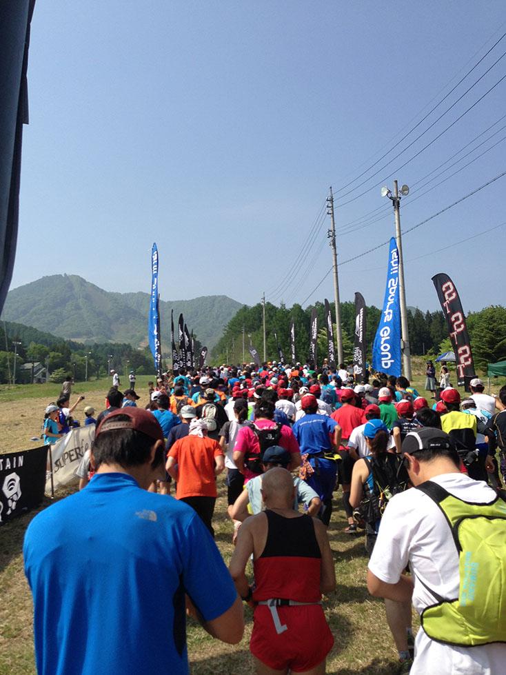 高社山登山マラソン2013に挑戦
