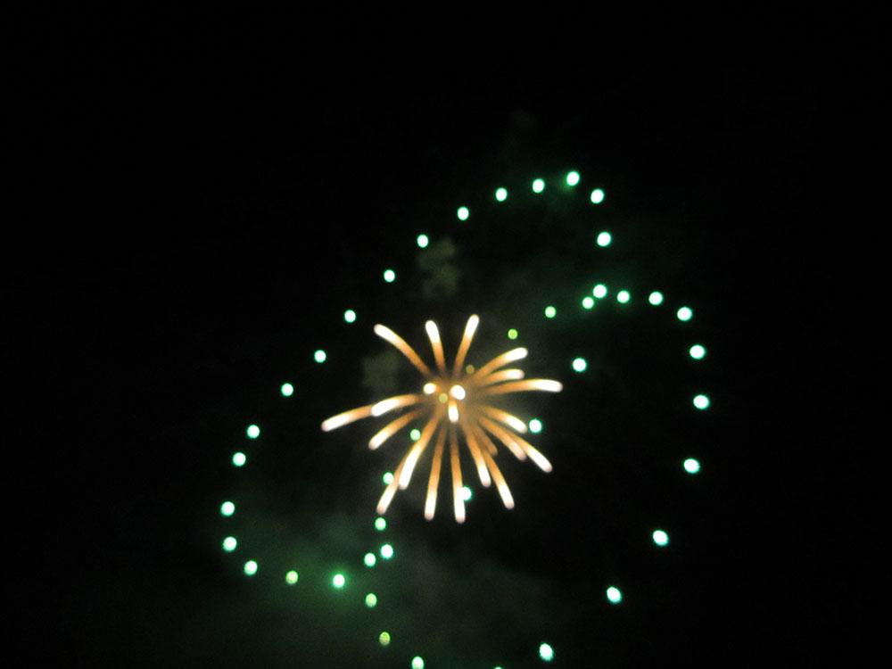 千曲川河畔納涼花火大会2014 有料観覧席申し込みました