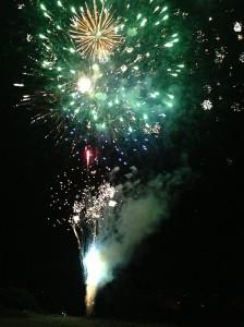 千曲川河畔納涼花火大会2013
