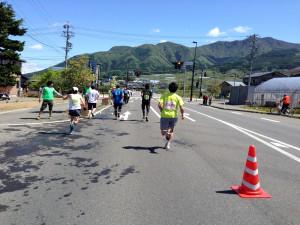 信州カチューシャふるさとマラソン大会 招待選手:荻原健司さん